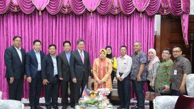 Photo of Menteri dari Kamboja Belajar Manajemen Transportasi ke Surabaya