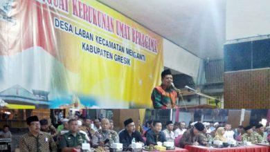 Photo of Desa Laban Dinobatkan Sebagai Desa Kerukunan Umat Beragama