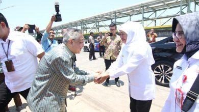 Photo of Gubernur Jawa Timur Khofifah Letakkan Batu Pertama