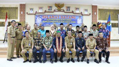 Photo of Wabup Qosim Bersama FKUB Gresik Ngansuh Kaweruh Ke FKUB Kabupaten Pesawaran