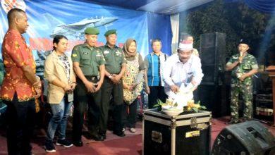 Photo of Tumpengan Peringati HUT TNI ke – 74 Koramil Duduk Sampeyan Gresik