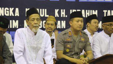 Photo of Silaturahmi Tokoh Agama, Kapolres Gresik Hadiri Haul Jama'ah Majelis Quran Al-Itihad