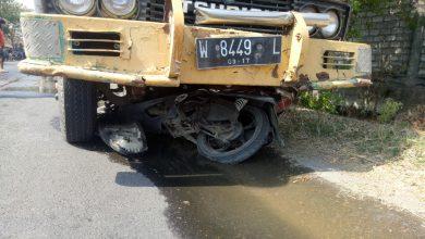 Photo of Laka Lantas Tewaskan Pengendara Motor yang Berboncengan Di Raya Jatirembe