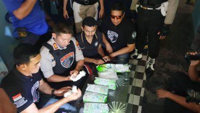 Photo of Untuk Mengelabuhi Petugas 4,87 Kg Sabu Dinumgkus Dalam Bungkusan Teh Hijau