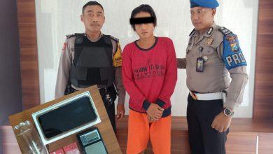 Photo of Unit Reskrim Polsek Driyorejo Amankan Pengguna Sabu-Sabu