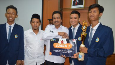 Photo of MAN 1 Gresik Raih The Best Five Kidtion Gresik 2019