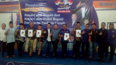 Photo of DPD Partai NasDem Kabupaten Gresik Gelar Pemaparan Visi dan Misi Cabup dan Cawabup Periode 2020-2025