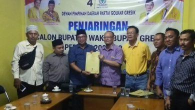 Photo of Ahmad Nadir Ambil Formulir Bacabup di DPD Golkar