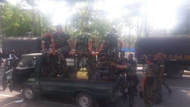Photo of Jelang Pilkades Serentak, Ribuan Personel Gabungan Di Turunkan