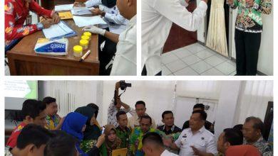Photo of BNNK Lumajang Lakukan Tes Urine Di Kantor Bagian Humas Dan Protokol