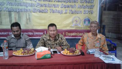 Photo of Legeslator Abdullah Munir Komisi IV DPRD Gresik Selenggarakan Public Hearing