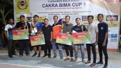 Photo of Club Bola Voli Dewa Ruci, Tumbangkan Oreo Kawak Dalam Turnamen Cakra Bima Cup I Karangsemanding