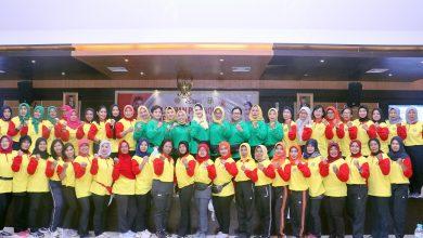 Photo of Bangun Sportivitas, Mental dan Karakter Bangsa, Perwosi Jatim Gelar Pelatihan Petanque