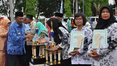 Photo of Pemkab Gresik gelar Peringatan Hari Korpri, Guru dan Kesehatan Nasional Bersama