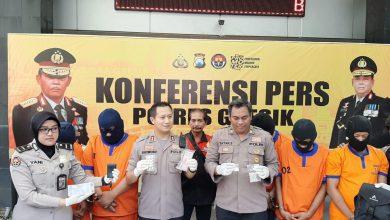 Photo of Press Conference Polres Gresik, Keberhasilan Polsek Menganti Ungkap 3 Kasus Narkoba