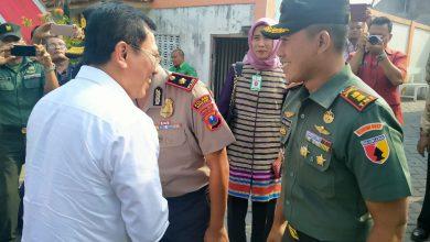 Photo of Dandim 0817/Gresik Dampingi Kunker Menteri Kesehatan RI Di Driyorejo