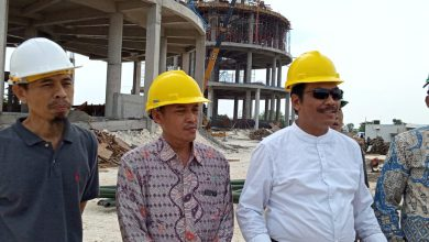 Photo of Wabup Gresik  Kunjungi Pembangunan Islamic Centere Di Kedungpring