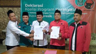 Photo of Sepakat Berkoalisi PKB Dan PDIP Untuk Pilkada Gresik 2020