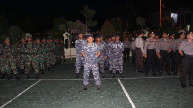 Photo of Prajurit Lanal Banyuwangi Ikuti Apel Gelar Siaga Bencana