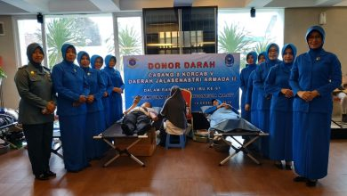 Photo of Peringati Hari Ibu ke – 91, Jalasenastri Lanal Cilacap Gelar Donor Darah