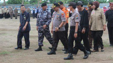 Photo of Siaga Perayaan Nataru 2020, Prajurit Lanal Banyuwangi Ikuti Apel Patroli Skala Besar