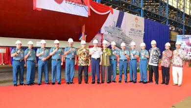 Photo of Komandan Lantamal V Hadiri Seremoni Keel Laying Kapal Cepat Rudal (KCR) 60 M Kapal ke – 5 dan 6