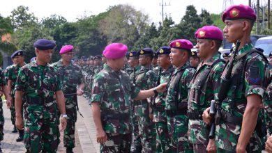 Photo of Wadan Lantamal V Pimpim Gelar Pasukan Pengamanan Nataru 2019/2020