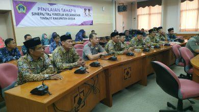 Photo of Lima Camat Adu Inovasi Dalam Final Lomba Sinergitas Kinerja Kecamatan