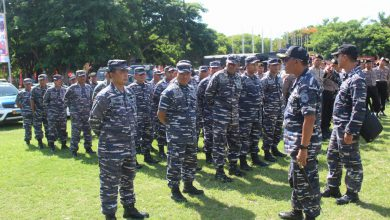 Photo of Prajurit Lanal Banyuwangi Ikuti Apel Bersama Siaga Bencana Hidrometeorologi