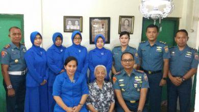 Photo of Jelang Peringatan Hari Dharma Samudera 2020, Lanal Yogyakarta Anjangsana Warakauri Pejuang Pertempuran Laut Arafuru