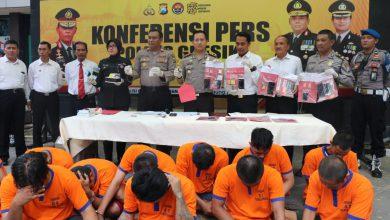 Photo of Polres Gresik Berhasil Amankan 14 Tersangka Penyalagunaan Narkoba