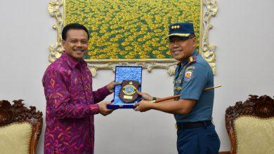 Photo of Komandan Pangkalan TNI AL Denpasar Audiensi ke Pemprov Bali