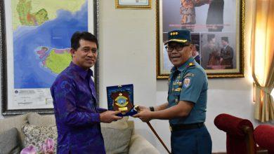 Photo of Komandan Lanal Denpasar Audiensi ke Bupati Kelungkung