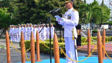 Photo of Rasakan Heroisme Pertempuran Laut Arafuru, Komandan Lantamal V Pimpin Upacara Dharma Samudra 2020