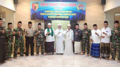 Photo of Dandim 0817/Gresik Doa Bersama dalam Sholat Tahajud dan Sholat Subuh