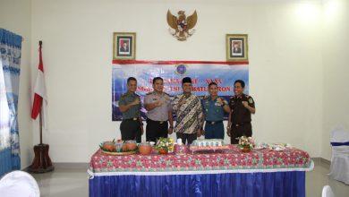 Photo of Sambut HUT Lanal Batuporon, Danlanal Batuporon Ajak Prajurit Do'a Bersama