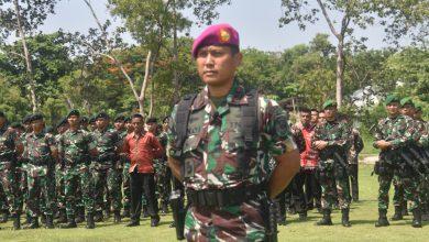 Photo of Danyonmarhanlan V Pimpin Gelar Pasukan Pengamanan VVIP RI 1