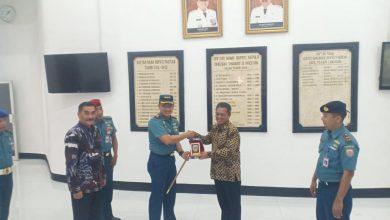 Photo of Danlanal Malang Courtesy Call Ke Bupati Pacitan Dan KE PLTU PJB UBJOM Pacitan