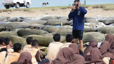 Photo of Siswa – Siswi SMP ALBANNA Ikuti Pelatihan Bela Negara Di Lanal Denpasar