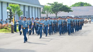 Photo of Usai Upacara Bendera, Prajurit AAL Latihan Defile