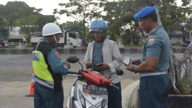 Photo of Tegakkan Disiplin, Polisi Militer Lanal Semarang Gelar Operasi Gaktib