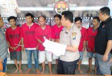Photo of Panen Tangkapan, Satreskoba Polres Sampang Ringkus 6 Orang Budak Narkoba