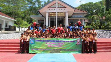 Photo of Siswa SMPN 1 Labang Ikuti LDKS Di Mako Lanal Batuporon