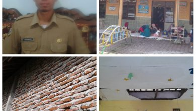 Photo of Takut  Ambrol Murid Diungsikan Ke Balai Desa Tenggor