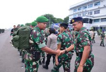 Photo of Asops Danlantamal V Hadiri Pemberangkatan Satgas YONZIPUR 5/ABW/DAM V/BRW Ke Nusa Tenggara Barat