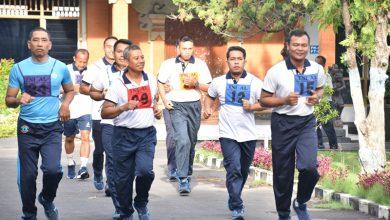 Photo of Demi Kebugaran Seluruh Prajurit Dan Kebugaran PNS Mako Lanal Denpasar Laksanakan Uji Garjas