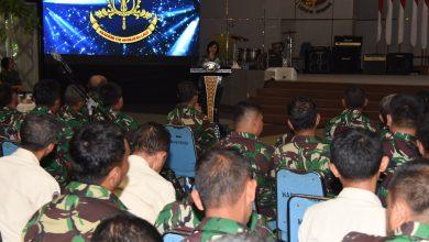 Photo of Ratusan Personel AAL Terima Bintal dan Sosialisasi Zakat Profesi TNI Angkatan Laut