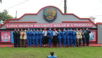 Photo of Jalasenastri Cabang 3 Lanal Cilacap, Kunjungi Lapas Permisan Nusakambangan