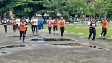 Photo of Uji Kebugaran Personel Lantamal V Laksanakan Garjas