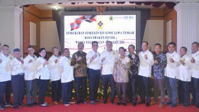 Photo of Danlanal Semarang Hadiri Pengukuhan Pengurus BPD GINSI Jawa Tengah Masa Bakti 2019 – 2024